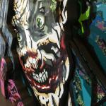 Galerie Art Jingle ROD Joker Gun 120 cm x 120 cm Détail 3