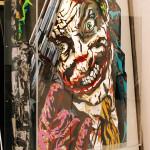 Galerie Art Jingle ROD Joker Gun 120 cm x 120 cm Encadrement Mur