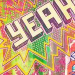 Galerie Art Jingle BAD CED INTERNATIONAL Los Angeles, 50 x 50 cm 2021 Détail 1