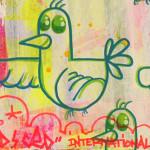 Galerie Art Jingle BAD CED INTERNATIONAL New York, 50 x 50 cm 2021 Détail 2