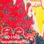 Galerie Art Jingle BAD CED INTERNATIONAL Rio, 50 x 50 cm 2021 Détail 2