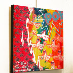 Galerie Art Jingle BAD CED INTERNATIONAL Rio, 50 x 50 cm 2021 Mur