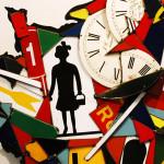 Galerie Art Jingle COSTA La France Qui Travaille 100 x 100 cm 2021 Détail 1