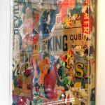 Galerie Art Jingle GRIMALDI King 120 x 120 cm 2020 in situ