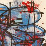 Galerie Art Jingle NEBAY (Réf. BC01) 65x50 cm 2021 Détail 1