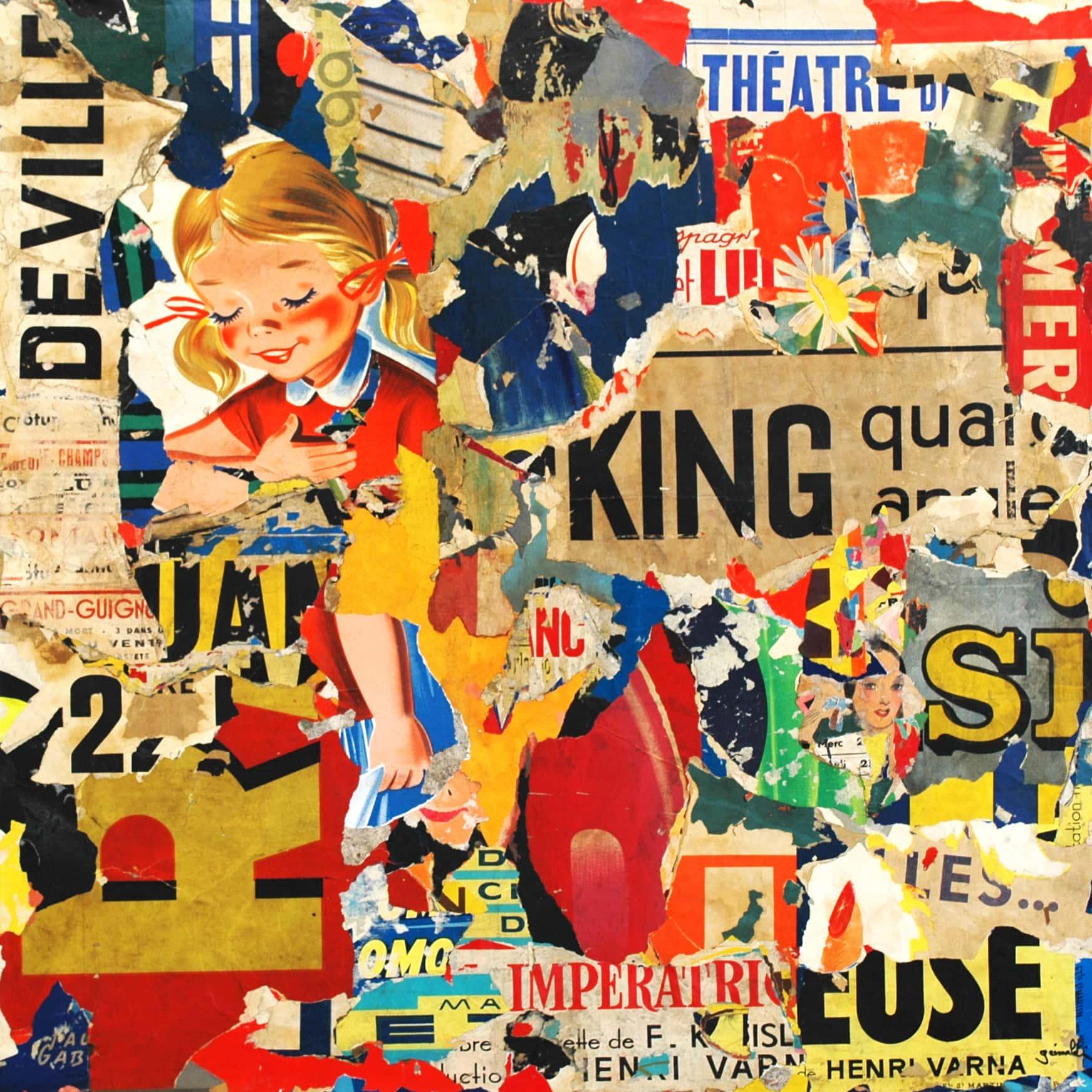 Galerie Art Jingle Pierre-François GRIMALDI King 120 x 220 cm 2021