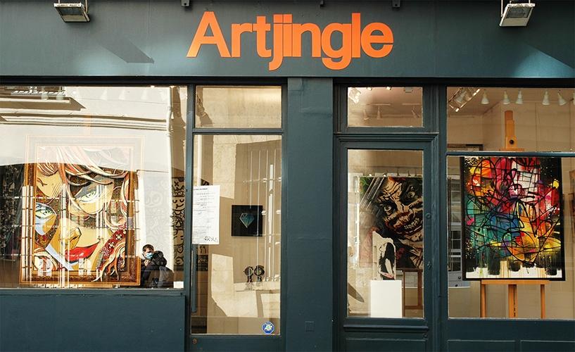 contact galerie artjingle paris, Contact