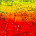 Galerie Art Jingle CHANOIR Chas Pour Les Puristes 120 x 120 cm 2021 Détail 1