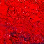 Galerie Art Jingle CHANOIR Chas Pour Les Puristes 120 x 120 cm 2021 Détail 2