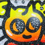 Galerie Art Jingle CHANOIR Cosmo Light Chas 60 x 60 cm 2021 Détail 1