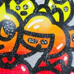 Galerie Art Jingle CHANOIR Cosmo Light Chas 60 x 60 cm 2021 Détail 3