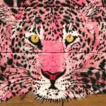 Galerie Art Jingle MOSKO Rêveuse Rose 40 x 59 cm 2021 Détail 1