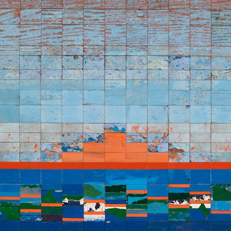 Galerie Art Jingle NESLER Coucher De Soleil 70 x 70cm 2021