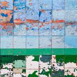 Galerie Art Jingle NESLER Datcha 70 x 70cm 2021 Détail 1