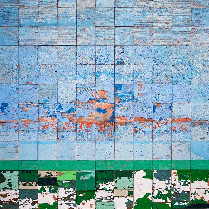 Galerie Art Jingle NESLER Datcha 70 x 70cm 2021
