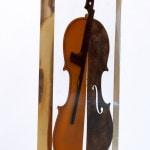 Galerie Art Jingle ARMAN Danse Du Feu 51 x 23 x 4 cm 1997 Détail 1