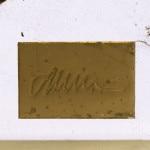 Galerie Art Jingle ARMAN Danse Du Feu 51 x 23 x 4 cm 1997 Signature