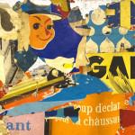 Galerie Art Jingle GRIMALDI Coup D'Eclat 212 x 162 x 6 cm 2021 Détail 1