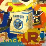 Galerie Art Jingle GRIMALDI Coup D'Eclat 212 x 162 x 6 cm 2021 Détail 2