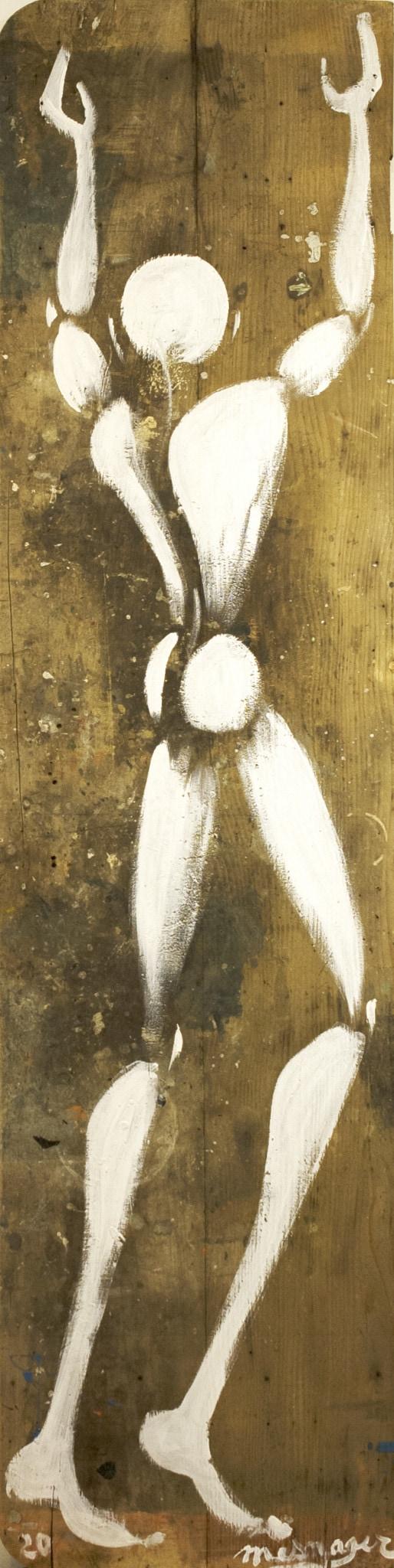 Galerie Art Jingle Jérôme MESNAGER Homme Géant 200 x 50 cm (Réf. 90) 2020