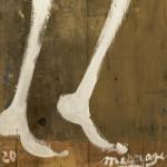 Galerie Art Jingle Jérôme MESNAGER Homme Géant 200 x 50 cm (Réf. 90) 2020 Détail 2