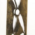 Galerie Art Jingle Jérôme MESNAGER Homme Géant 200 x 50 cm (Réf. 90) 2020 Détail 4