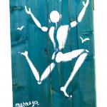 Galerie Art Jingle Jérôme MESNAGER La Liberté 40 x 50 cm (Réf. 71 ) 2021 Détail 3