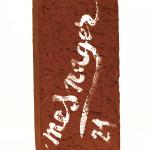 Galerie Art Jingle Jérôme MESNAGER Moi (Réf. 2) 22 x 11 x 5 cm 2021 Derrière