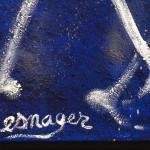 Galerie Art Jingle Jérôme MESNAGER Première Danse 100 x 81 cm (Réf. 122 ) 2020 Détail 3