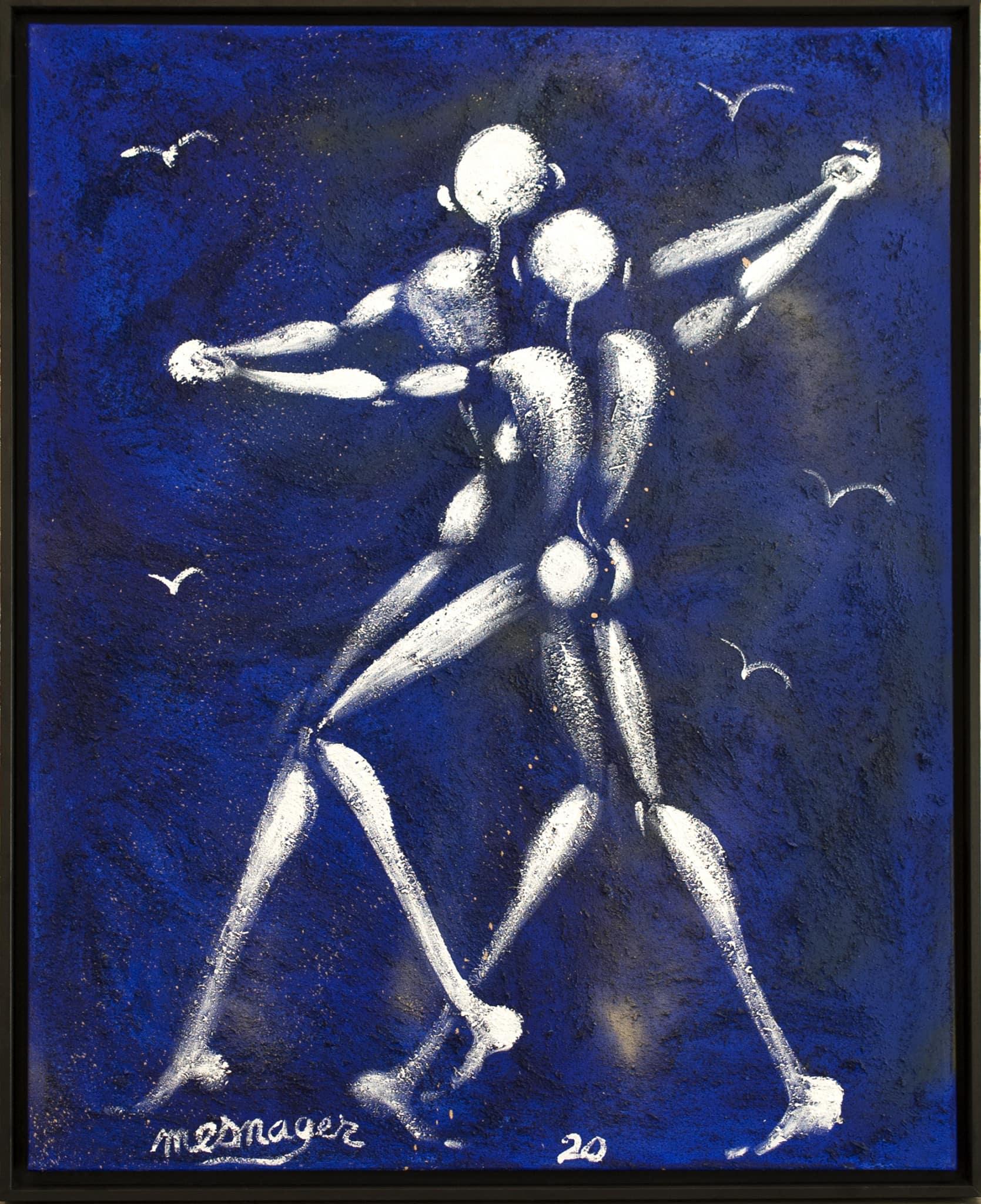 Galerie Art Jingle Jérôme MESNAGER Première Danse 100 x 81 cm (Réf. ) 2020