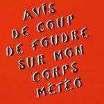 Galerie Art Jingle MISS.TIC Avis de Coup De Foudre Sur Mon Corps Météo (Réf. 4) 50 cm x 65 cm 2020 Détail 1