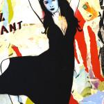 Galerie Art Jingle MISS.TIC Et Bien Dansez Maintenant 130 x 97 cm 2014 Détail 3