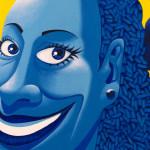 Galerie Art Jingle Ma Negresse Bleue 65 x 54 cm 2001 Detail 5