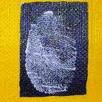 Galerie Art Jingle Ma Negresse Bleue 65 x 54 cm 2001 Détail 5 POUCE