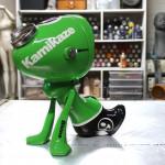 Kawa, resin, metal, acrylic & spraypaint, 28cm, 2021, 1100€ 3