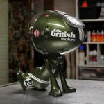 Ritchie resin, metal, acrylic & spraypaint, 30cm, 2021, 1100€ 3