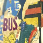 Galerie Art Jingle GRIMALDI Bus 18.5 x 14.5 cm 2021 Détail 4