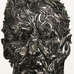 Galerie Art Jingle Shaka Etude L.Freud. Print on paper 24 x 35.5 cm 2011 detail 1
